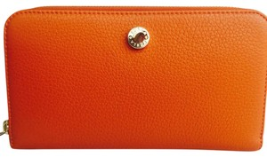 Furla Furla orange continental zip wallet new