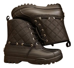 Sperry Duck Snow Black Boots