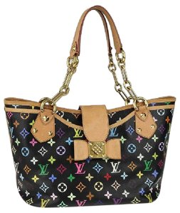 Louis Vuitton Tote in Black Multicolor