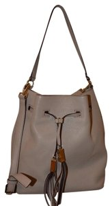Kate Spade Leather Gold Hardware Signature Tassels Shoulder Bag