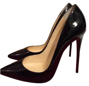 Christian Louboutin Heels Stiletto So Kate Patent Black Pumps
