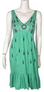 Floreat Anthropologie Embroidered Dress