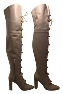 Jimmy Choo Over-the-knee Taupe Boots