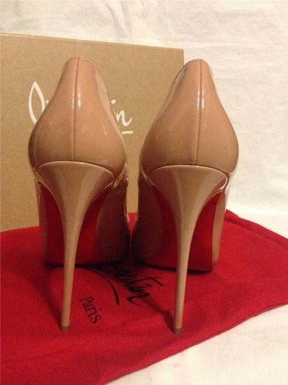 Christian Louboutin Heels Stiletto So Kate Patent nude Pumps Image 3