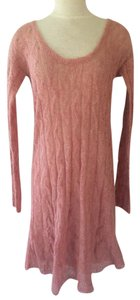Free People short dress Guava Sweater Smooth Talker Boho on Tradesy