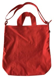 BAGGU Canvas Tote in Red
