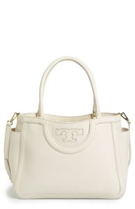Tory Burch Satchel in NEW IVORY
