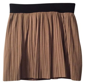 BCBGMAXAZRIA Mini Skirt beige