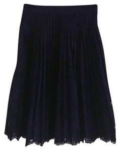 Ann Taylor LOFT Skirt Navy Blue