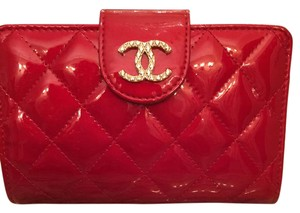 Chanel Chanel Red Patent Leather