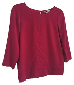 DKNY Magenta Top Pink / red