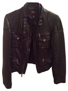 Miss Sixty Leather Leather Jacket