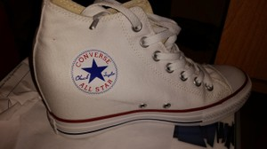 Converse Chuck Taylor Navy Sneaker High-top White Athletic