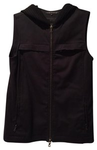 Theory Hood Zip-up Stylish Vest