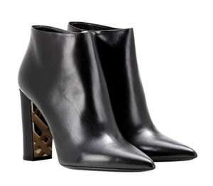 Burberry Bamburgh Ankle Heel Black Boots