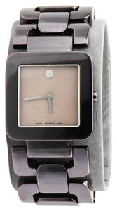 Movado LUMA CHOCOLATE PVD/S.S LADIES WATCH