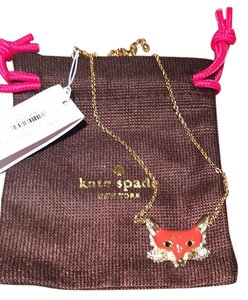Kate Spade kate spade fox necklace INTO THE WOODS