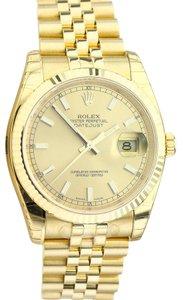 Rolex Rolex 116238 Date-Just 18K Solid Gold Watch