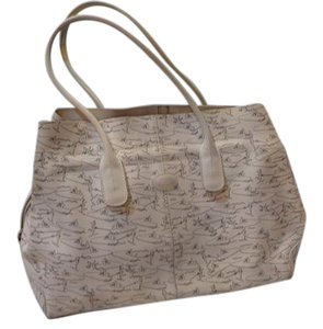 Tod's Tote in white/pattern
