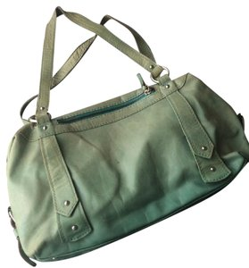 Helen Welsh Made In Italy Leather Satchel in Mint Green