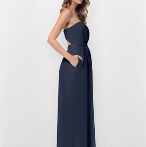 Navy Dove And Dahlia Caroline Dress