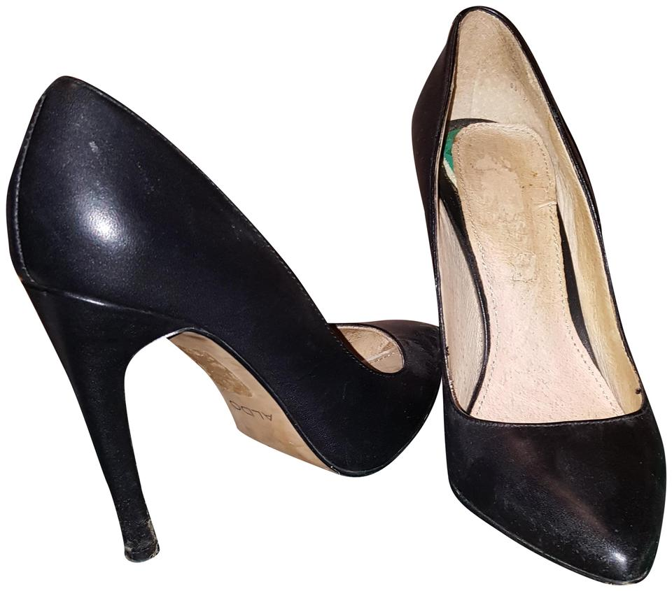 31d885b735e2 ALDO Black Pointed Toe Pumps Size US 6.5 Regular (M