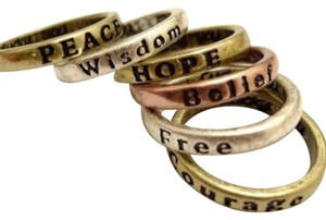 Other 2017 Wish Rings - Set of 8/ Mixed Sizes & Colors