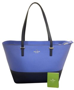 Kate Spade Harmony Pxru4545 Royal Cedar Sm Harmony Ks Kate Sm Harmony Tote in Ocean Navy Blue