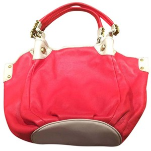 orYANY Satchel in Coral, Oyster
