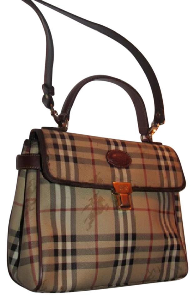 8e7571e9f6fa Burberry Early Two-way Style Expandable Sides Excellent Vintage Perfect For  Everyday Satchel in British ...