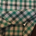 Tom Ford Button Down Shirt white/green check Image 4