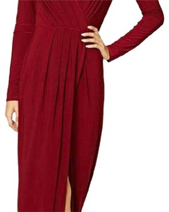 wine Maxi Dress by Forever 21