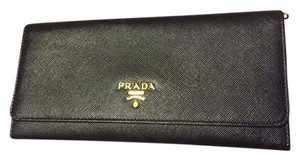 Prada Prada Saffiano Leather Wallet on Chain