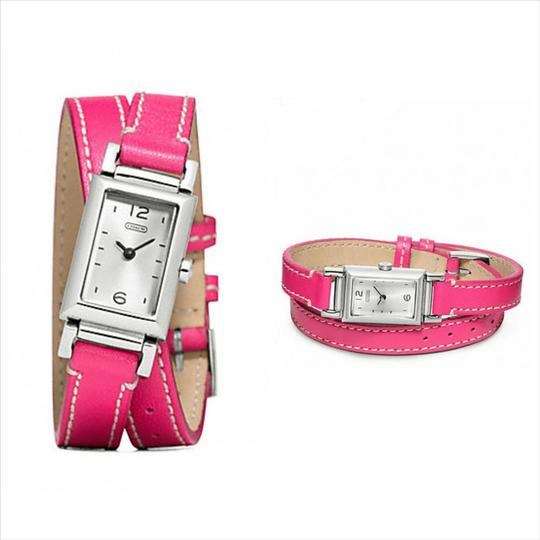 Coach COACH MADISON STAINLESS STEEL WRAP STRAP WATCH / W1092