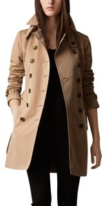 Burberry Trench Check Trench Coat