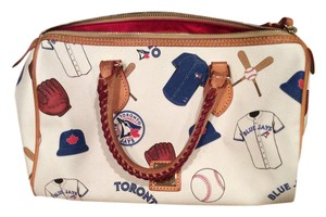 Dooney & Bourke Satchel in Blue Jays