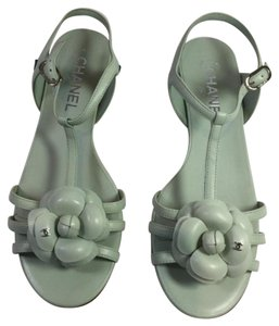 Chanel light green Sandals