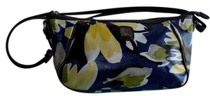 Brighton Canvas Leather Signature Bold Floral Satchel in Multi-Colored