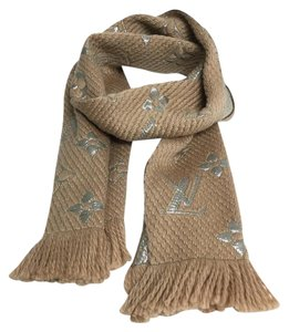 Louis Vuitton LOUIS VUITTON LOGOMANIA SHINE SCARF