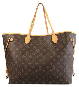 Louis Vuitton Lv Neverfull Gm Canvas Shoulder Bag