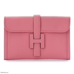 Herms pink Clutch