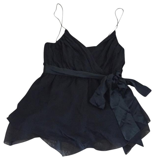 The Limited Silk Strappy Top black