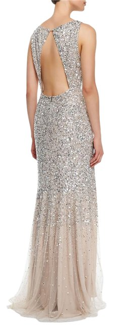 Item - Nude/Silver G408583758 Long Formal Dress Size 4 (S)