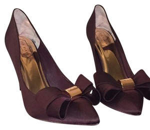 Ted Baker burgundy satin Formal
