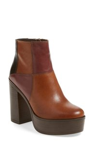 Steve Madden Brown-Burgundy Multicolored Boots