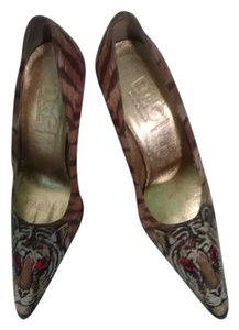 Dolce&Gabbana Printed fabric Pumps