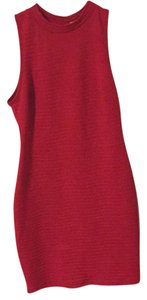 Lush short dress red on Tradesy
