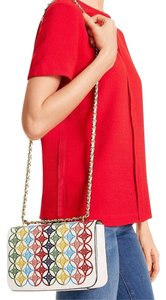 Tory Burch Women Leather Tote Shoulder Bag