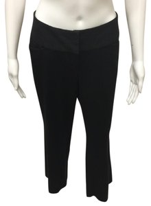 Express Wide Leg Pants Pitch Black