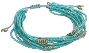 Chan Luu 6 1/4' Adjustable Multi Strand Single Bracelet